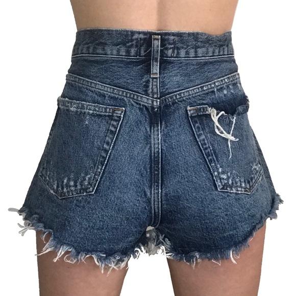 "Agolde Pants - Agolde Parker Vintafe Jean Shorts Womens 31"""